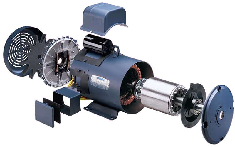 Leeson Electric Motor Distributor Big Electric Motors